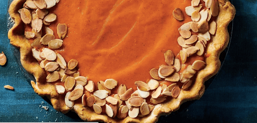 Chia Carrot Pie