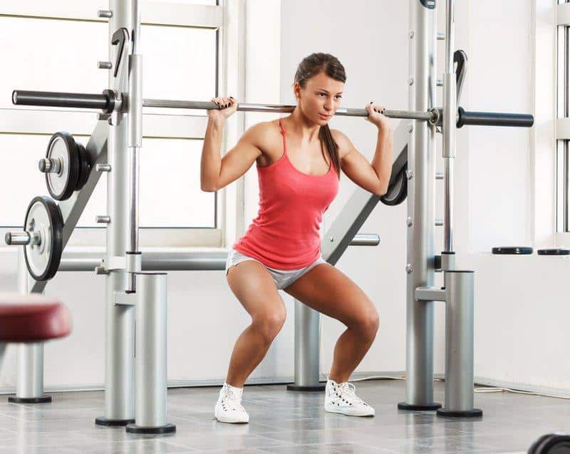 Squat on a Smith Machine