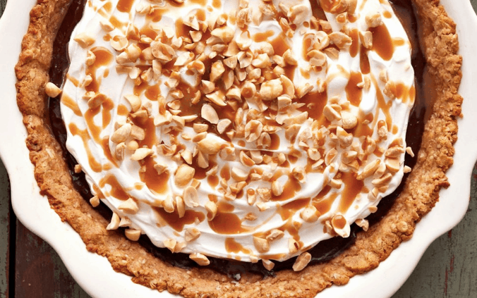 Chocolate Caramel-Peanut Crunch Pie