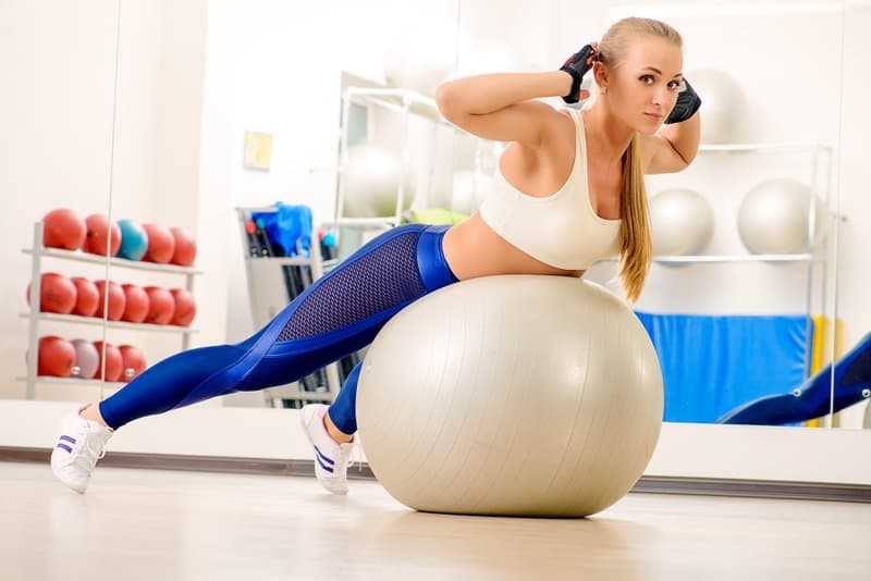 Exercise Ball Back Extension