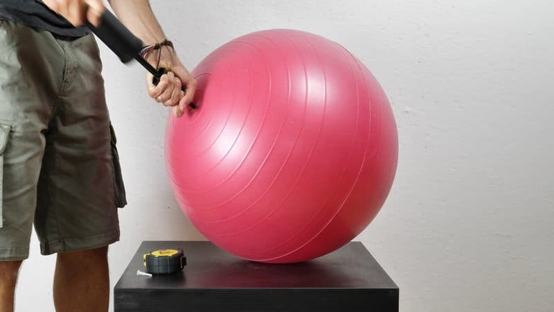 How to Inflate Your Exercise Ball