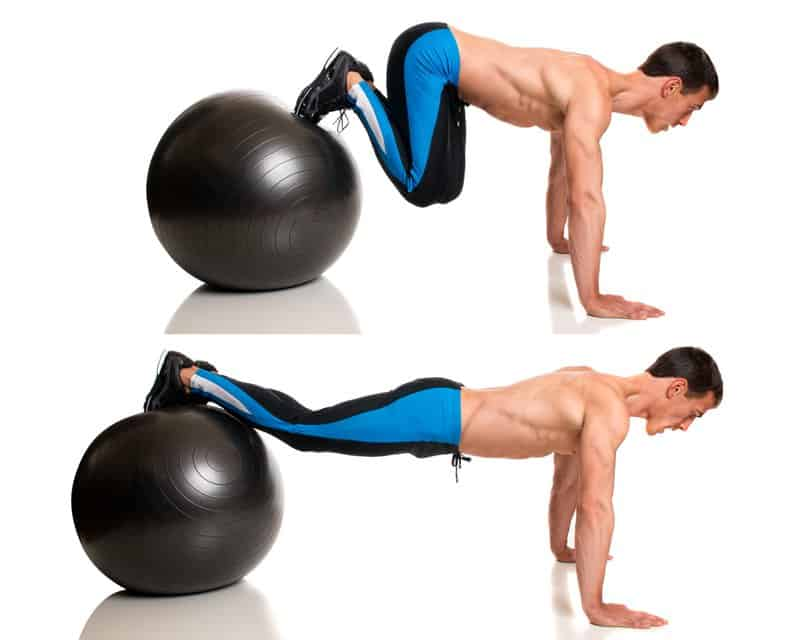 Exercise Ball Jackknife