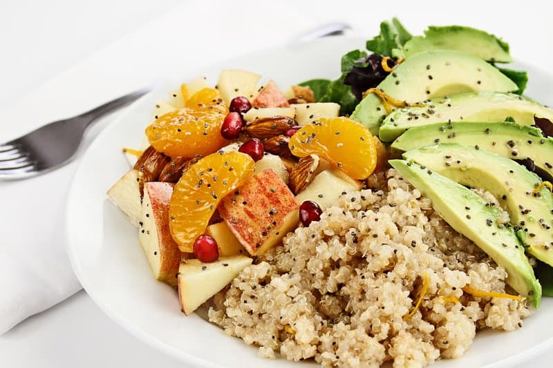 Quinoa is a gluten-free, ancient whole grain that's high in protein and is one of the only plant foods that carries all nine essential amino acids.