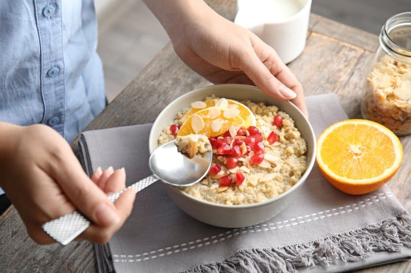 Whether you're trying to maintain or lose weight, having quinoa for breakfast can provide many healthy and delicious benefits to any diet plan.