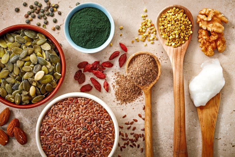 Adding herbs, seed, spices, nuts, and legumes to your diet can also improve your colon health.