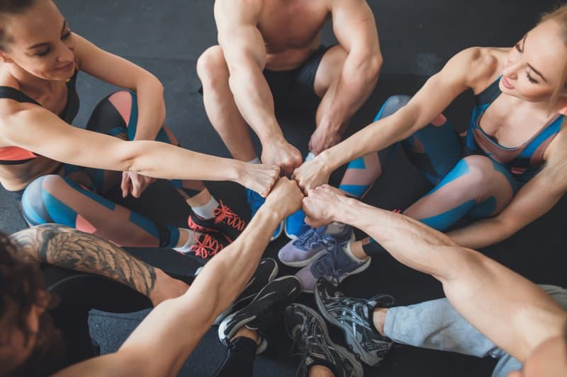 It's important to surround yourself with friends who will help you meet your personal fitness goals. Your friends should encourage you if you are trying to accomplish something, not make you feel bad for wanting to prioritize your health!