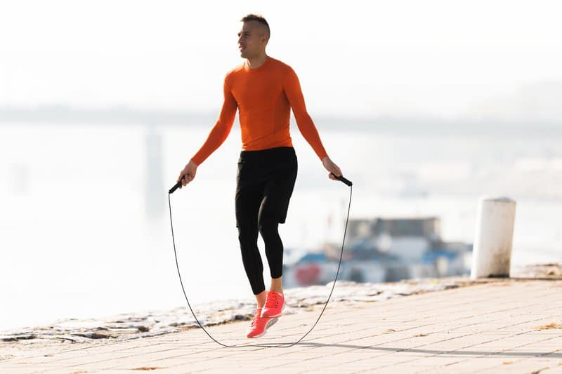 Jump rope is a great cardio exercise that can be done anywhere, at any time. This is a great way to improve your stamina and improve your personal fitness.