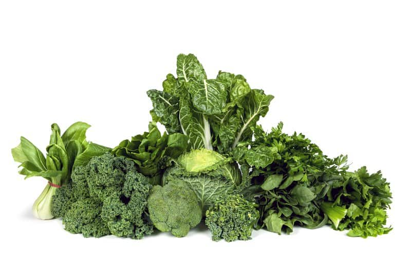 Since vegetables are a must for good colon health, broccoli is one that is beneficial in practically every situation. Spinach, kale, and chard are also great additions as they're rich in vitamins.
