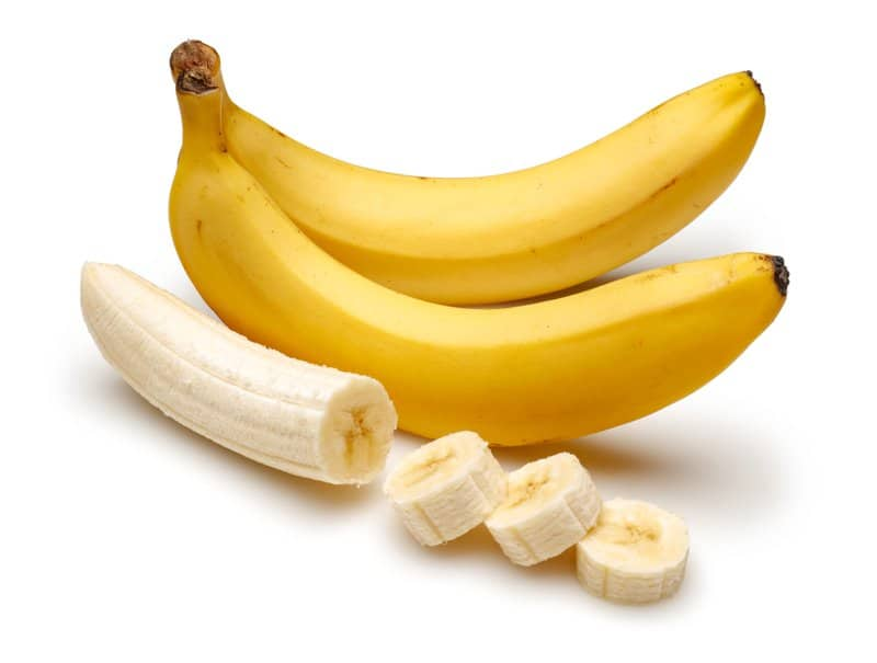 How much potassium is there in a banana? It is common knowledge that bananas are a great source of potassium. The amount of potassium in a banana can range from 290 mg in a small banana to 544 mg in an extra-large one.