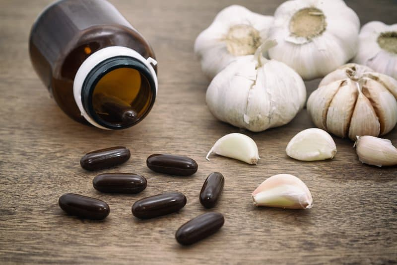 Garlic pills have many health benefits