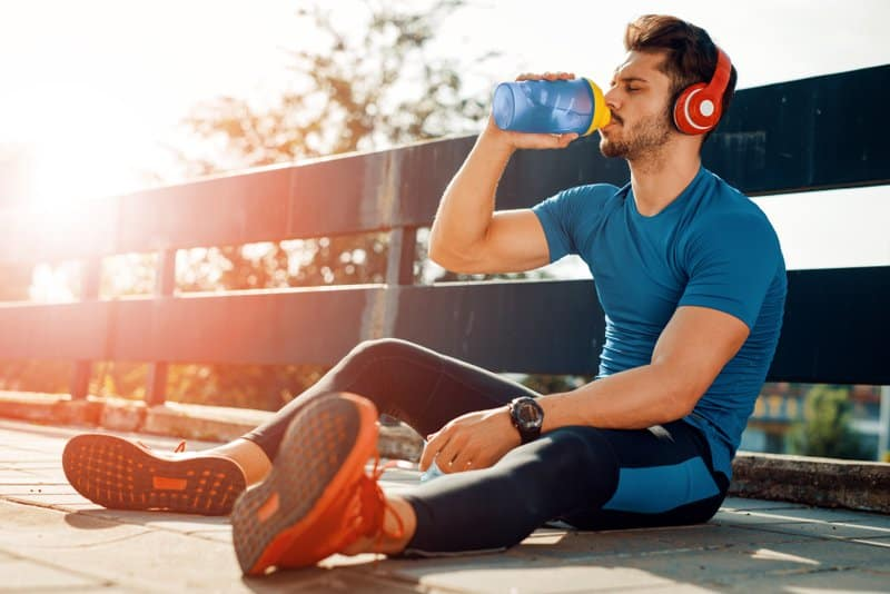 Sports drinks are great way to replenish electrolytes in the body.