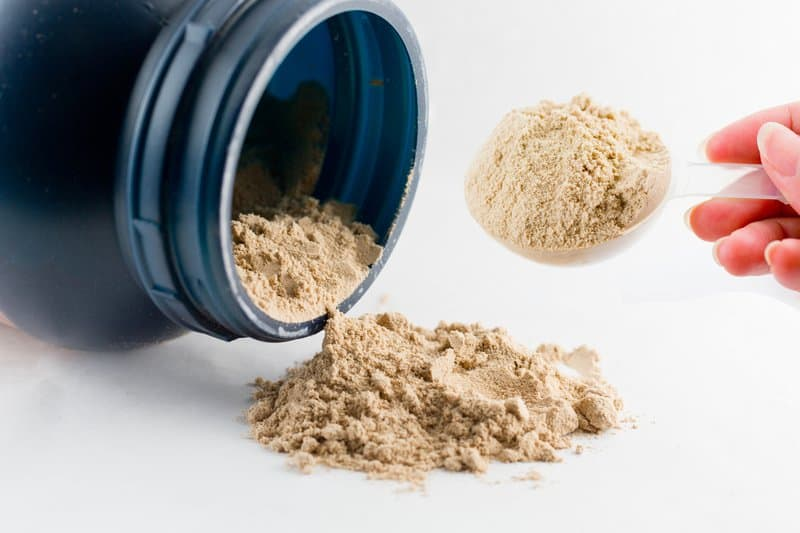 Whey protein powder has a diverse amino acid profile.