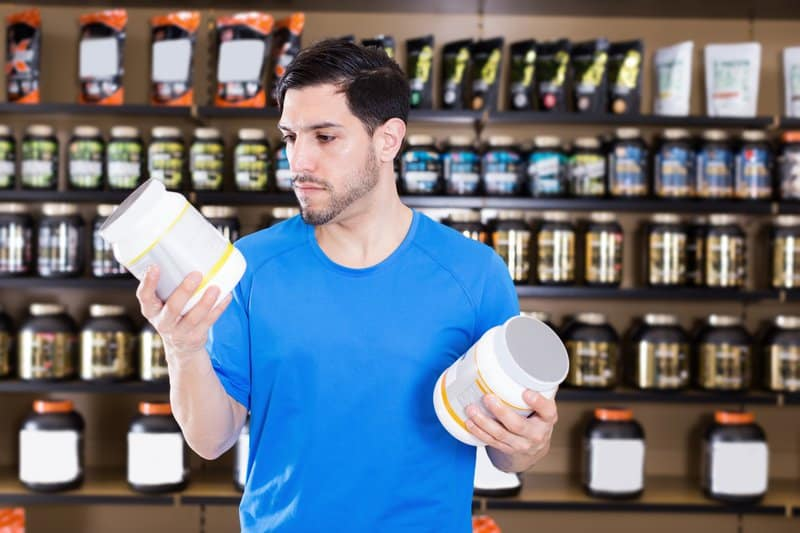 Protein powders are great muscle-building supplements.