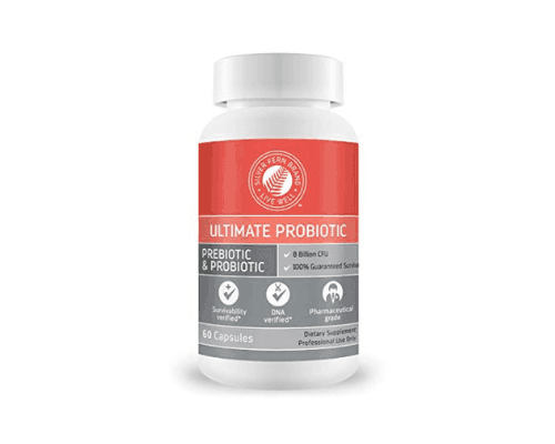 Silver Fern's Ultimate Probiotic Supplement is great for gut health.