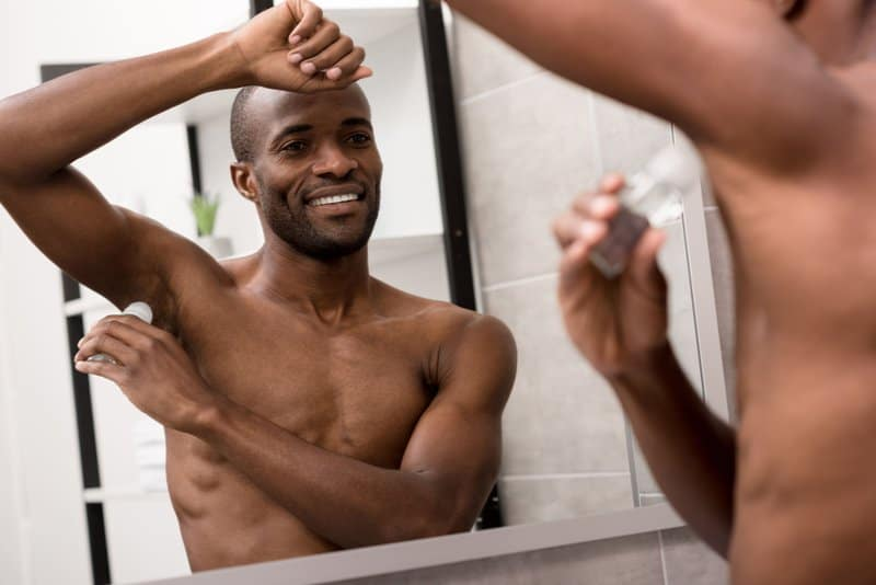 There are aluminum free deodorant for men.