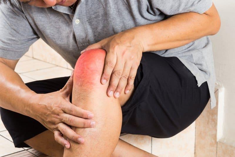 Degenerative joint disease is common in the knee.