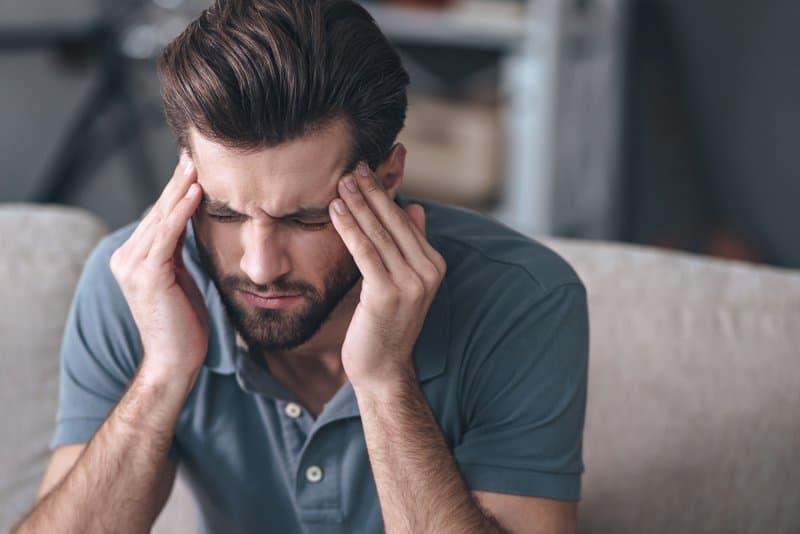 A vitamin B3 deficiency can cause serious headaches.
