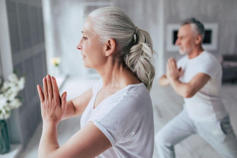 Yoga is a great way to prevent osteoporosis.