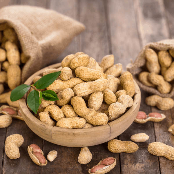 Nutrition Facts for Raw Peanuts 3