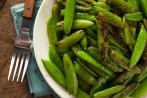 sugar snap peas sauteed