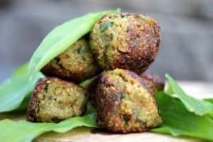meatballs made of vegetables