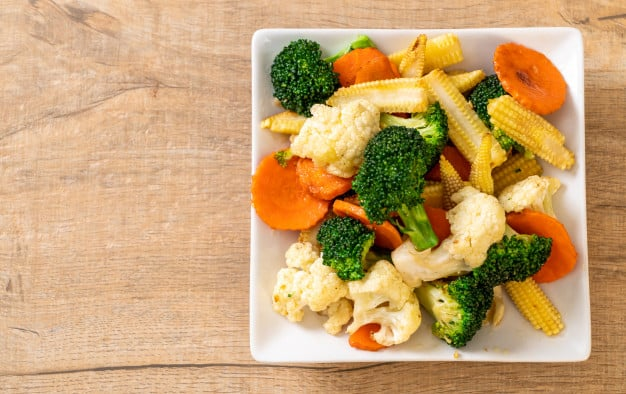 Healthy Chinese Food - Mixed Vegetables