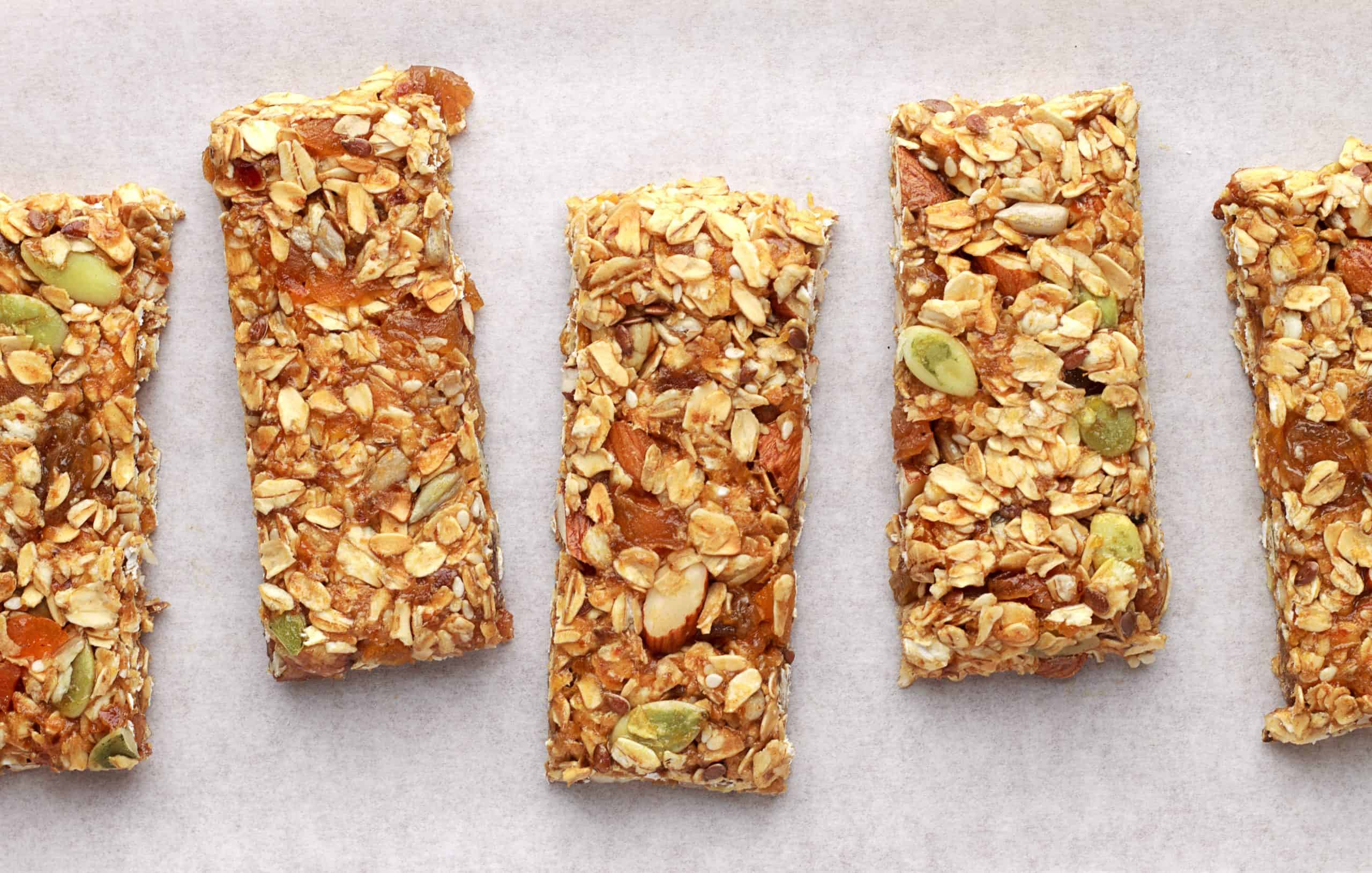 Soft Chewy Sugar-Free Granola Bars Recipe