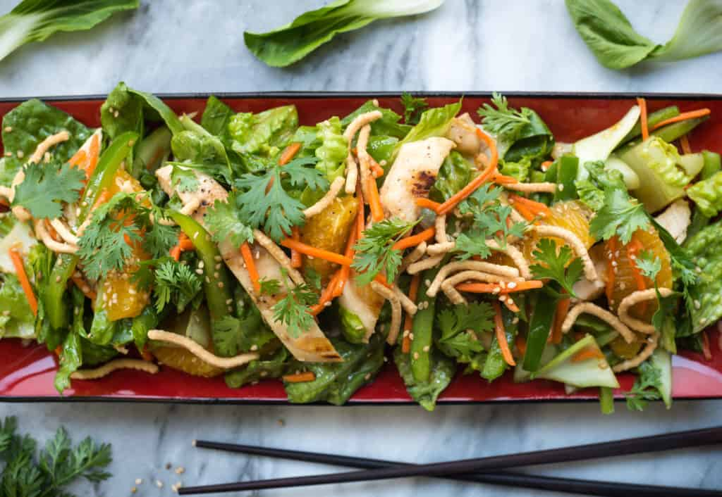 Chinese Chicken Salad: A Popular Entree in America
