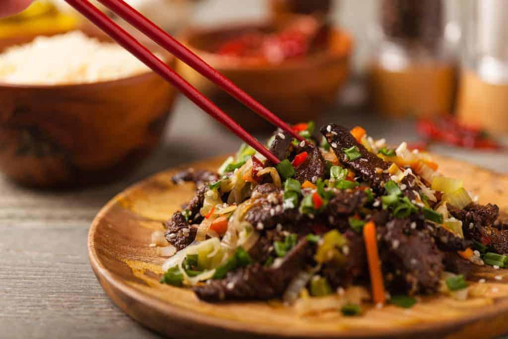 korean beef bowls