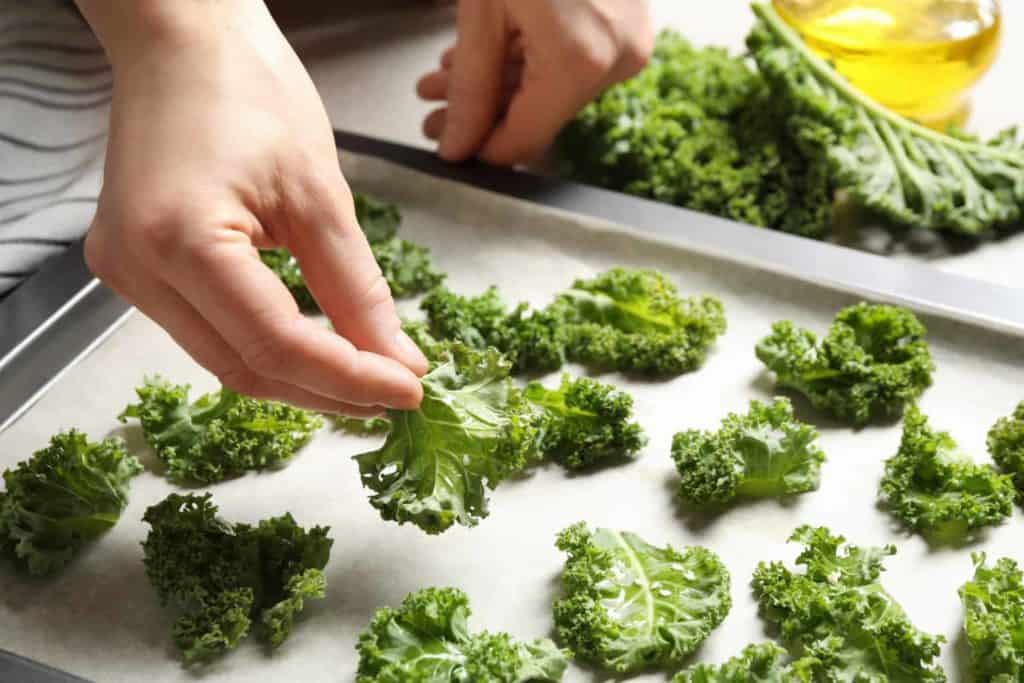 make kale chips