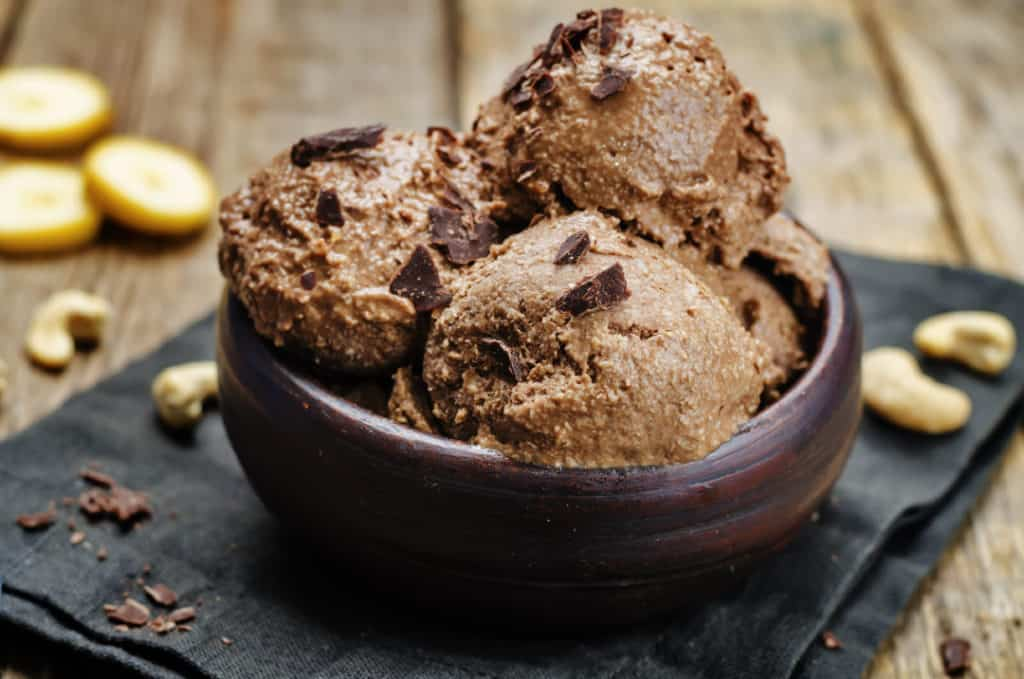 chocolate vegan ice cream