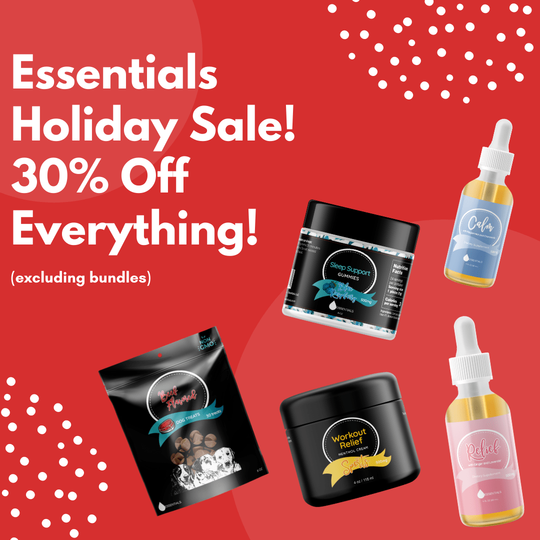 Essentials Holiday Sale: 30% Off Plant-Based Supplements 1