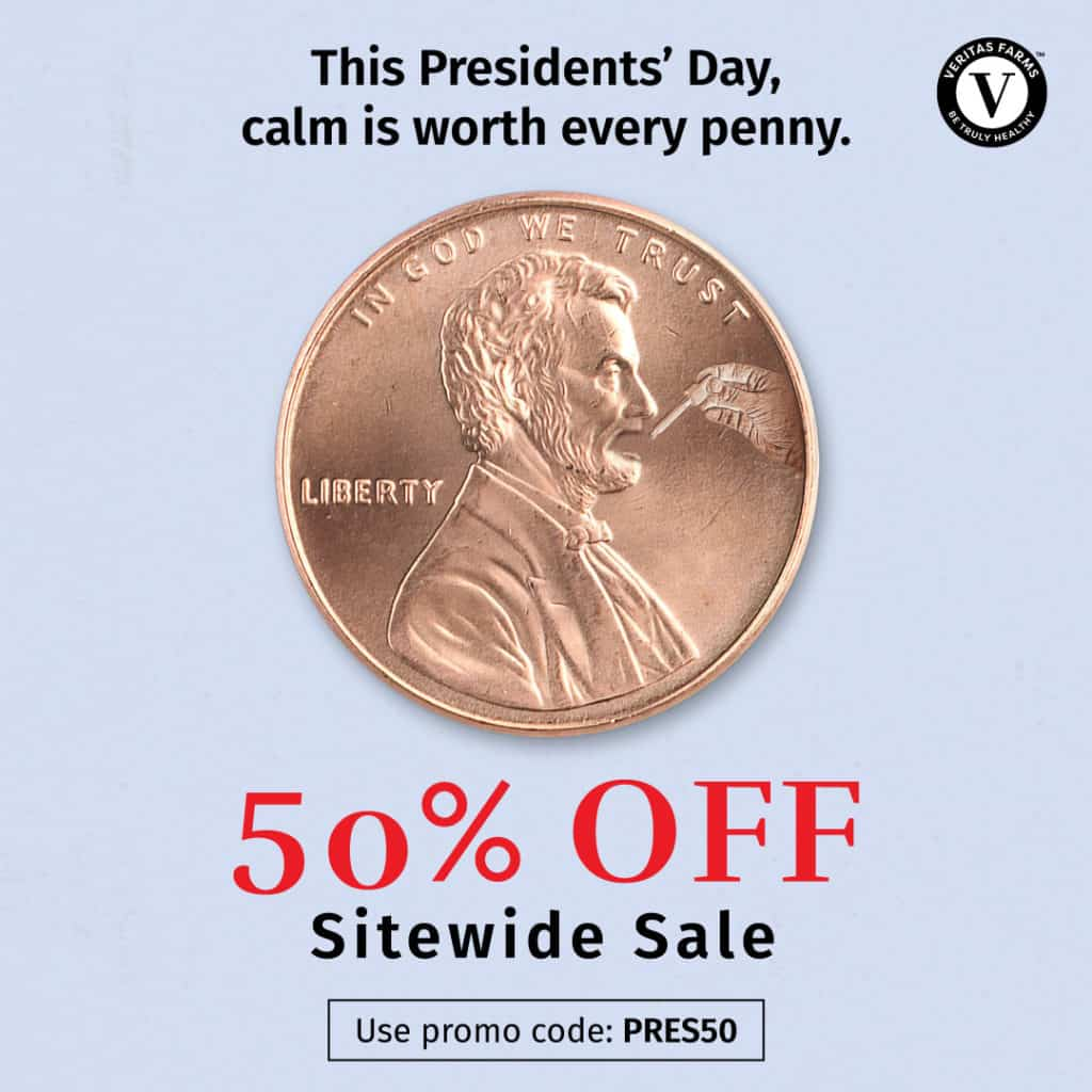Veritas President's Day Sale: 50% Off Sitewide! 1