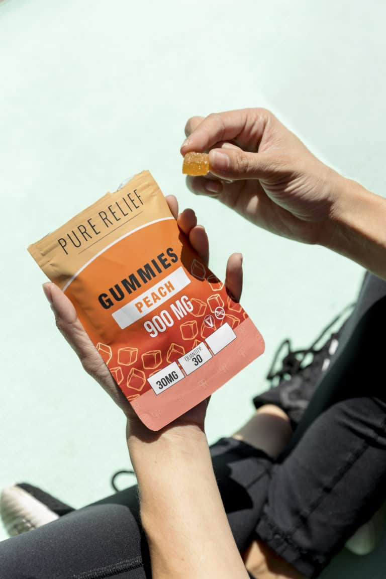 Overcome Anxiety With Free Relief Peach Gummies 4
