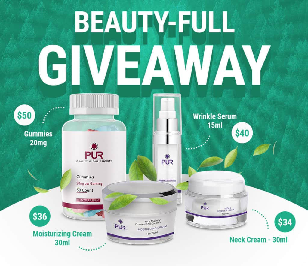 PUR's Beauty-FULL Giveaway 1