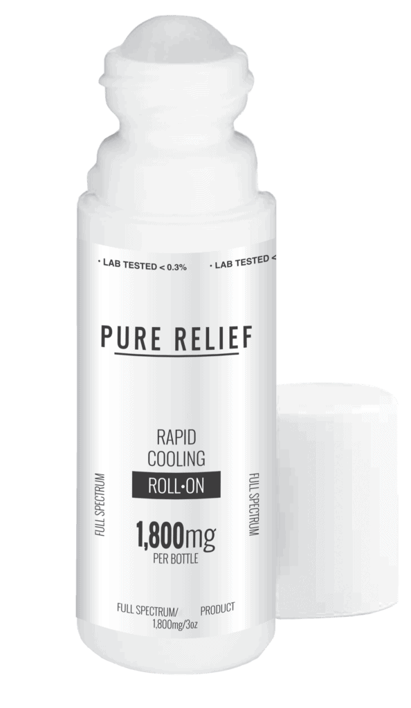 Pure Relief's Rapid Cooling Roll-On: The All-Natural Alternative to Pain Creams 1