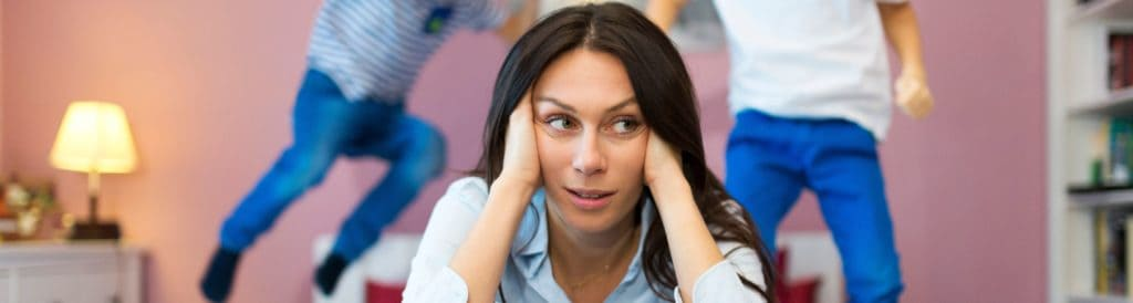 Common Cause of Stress for Moms 1