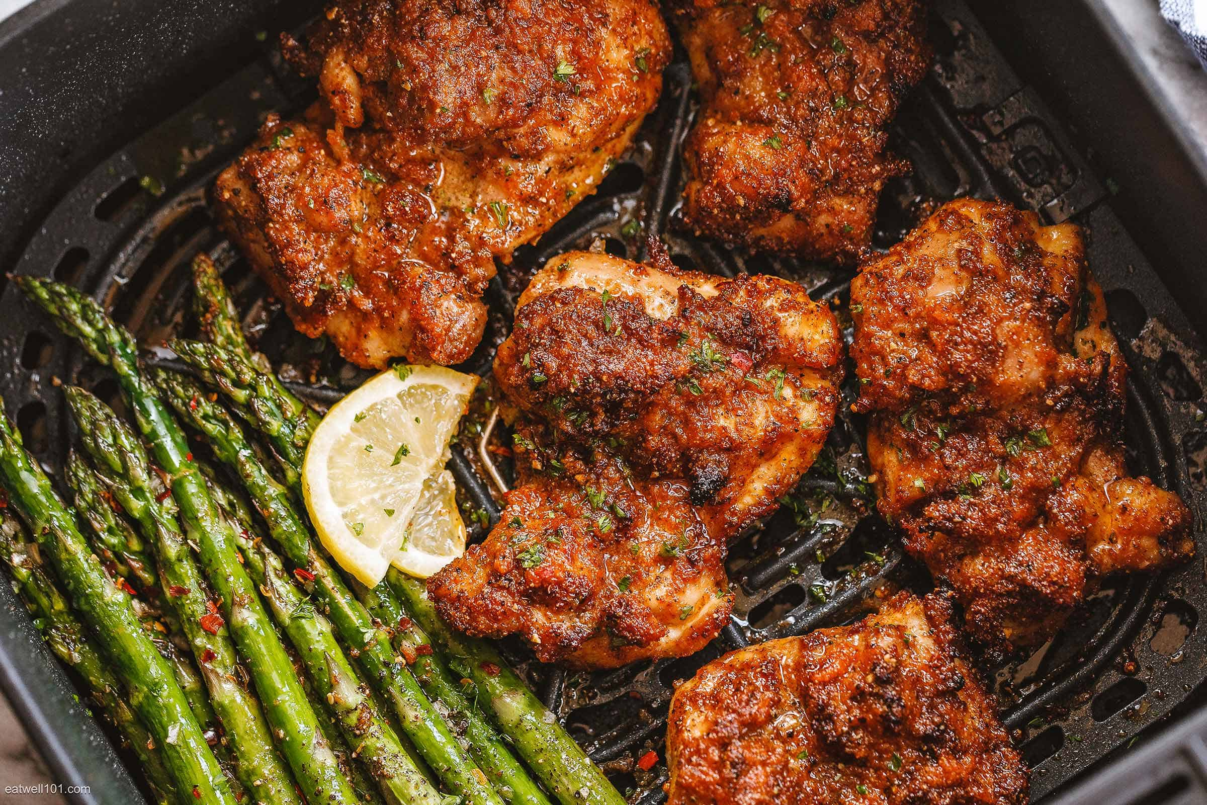 Air-Fryer-Chicken-Thighs-recipe
