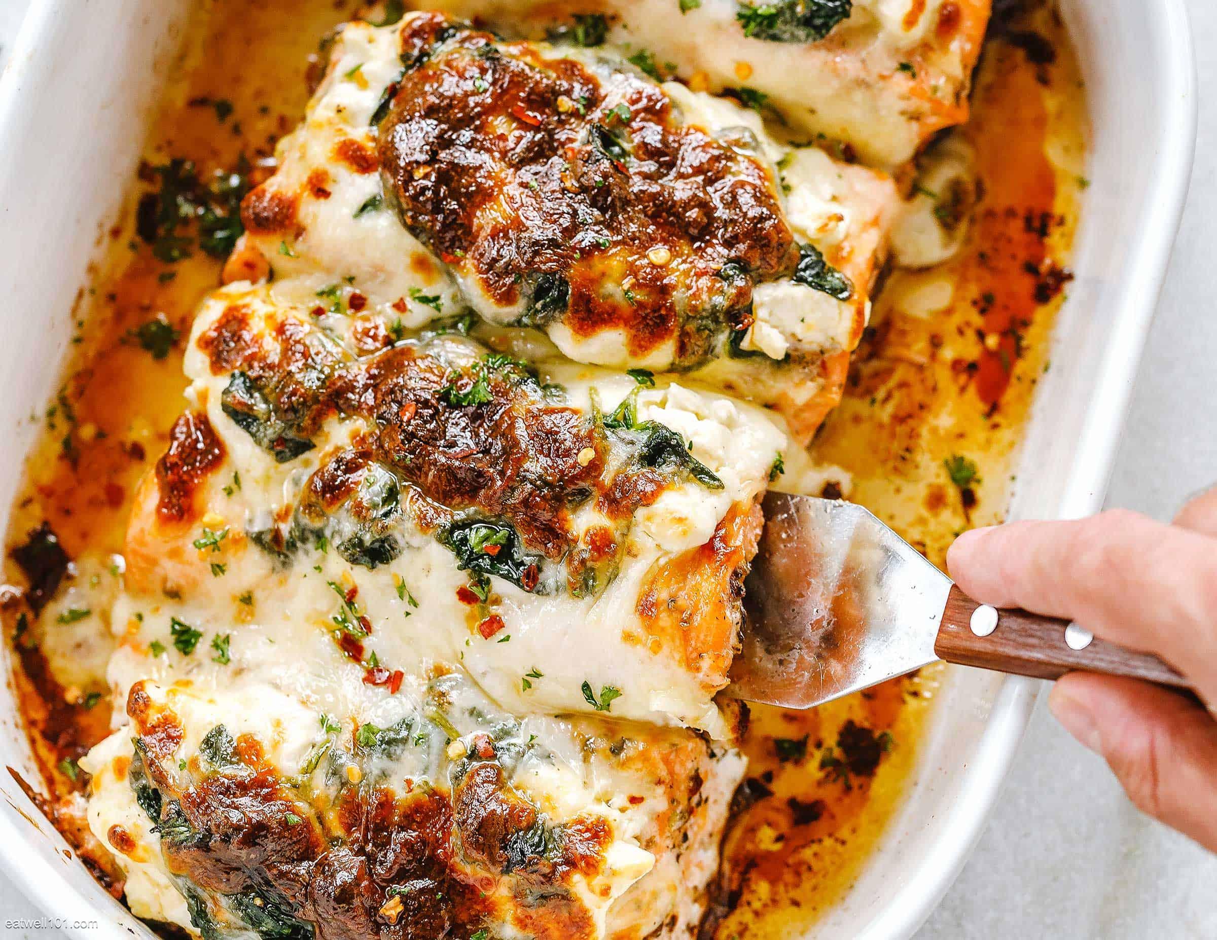 Spinach-Salmon-Casserole