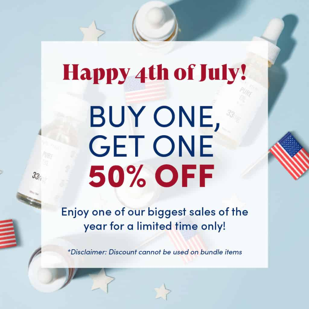 Pure Relief 4th of July Sale! 2