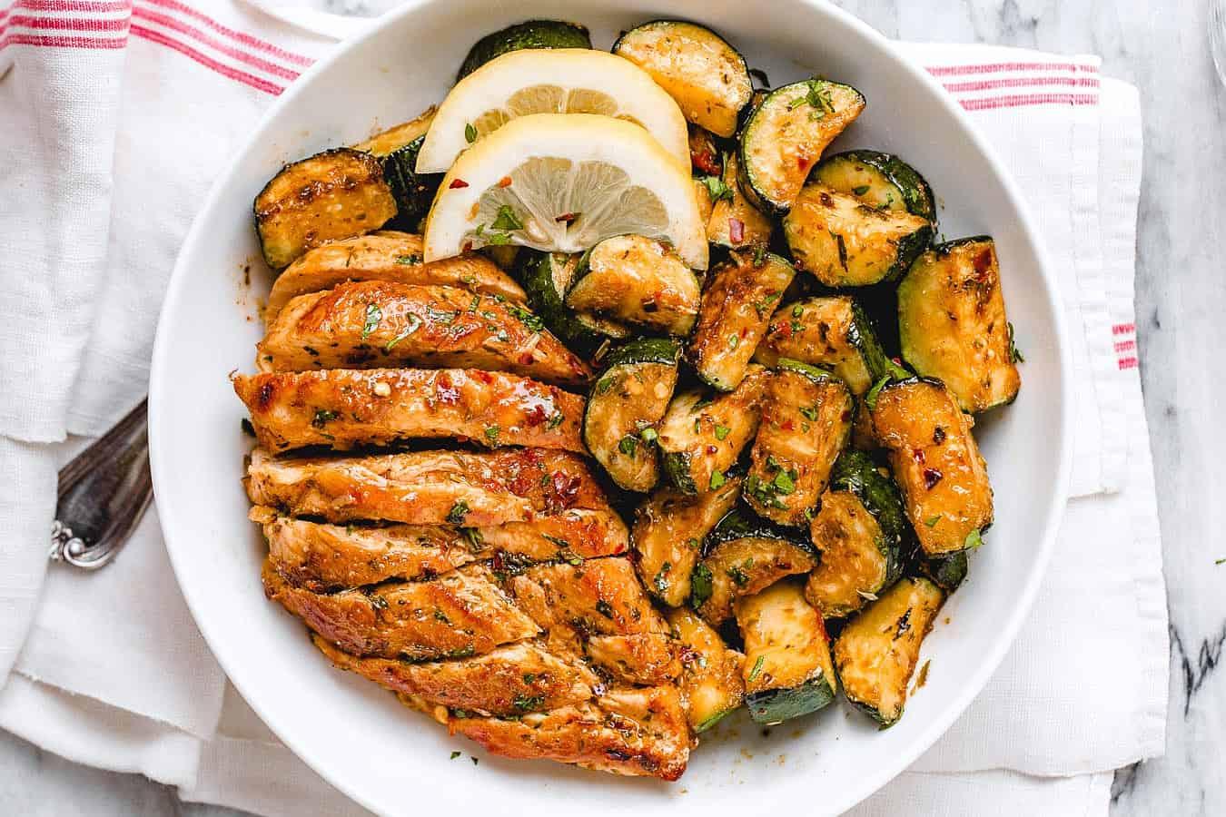 chicken zucchini skillet