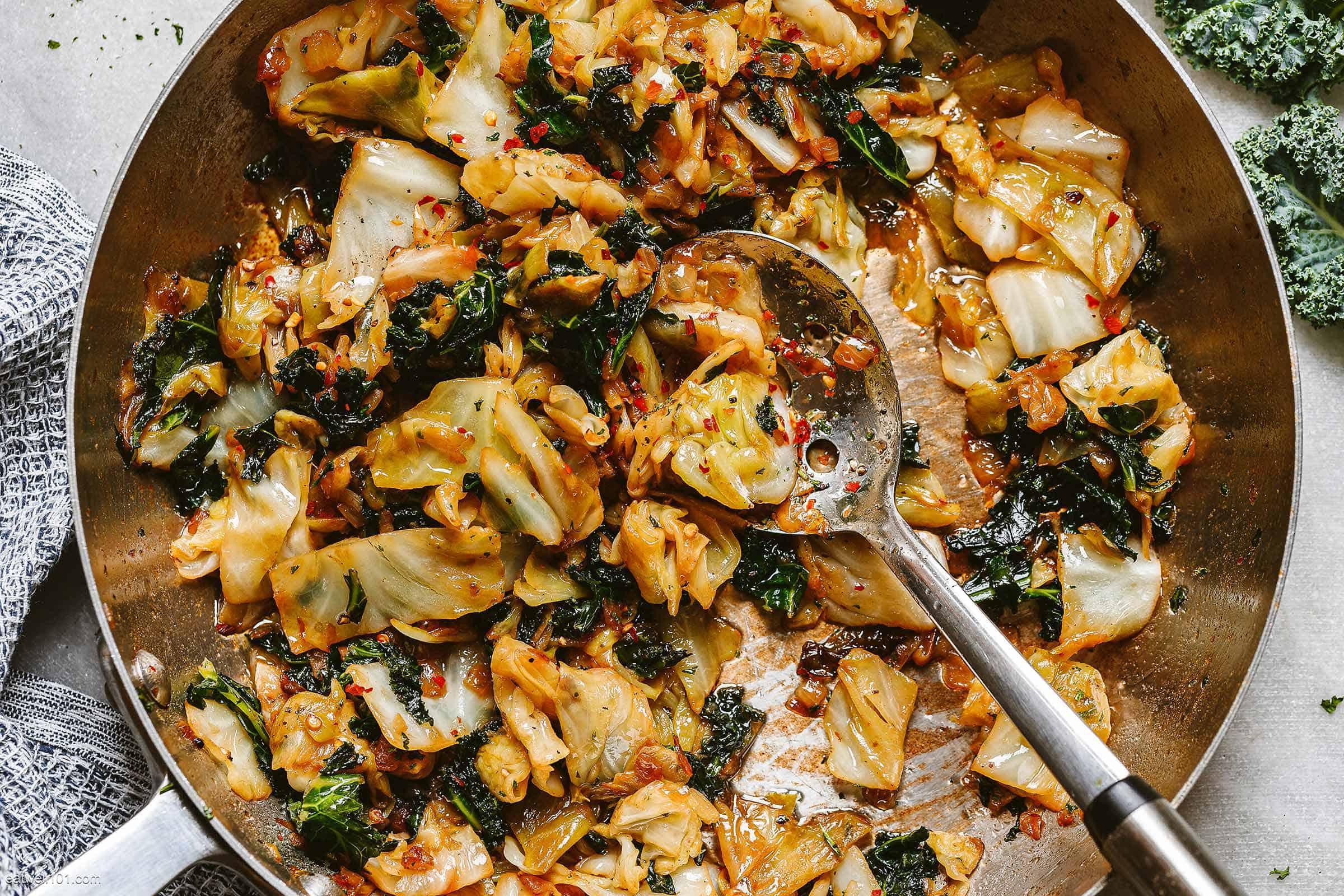 sauteed-kale-cabbage-recipe