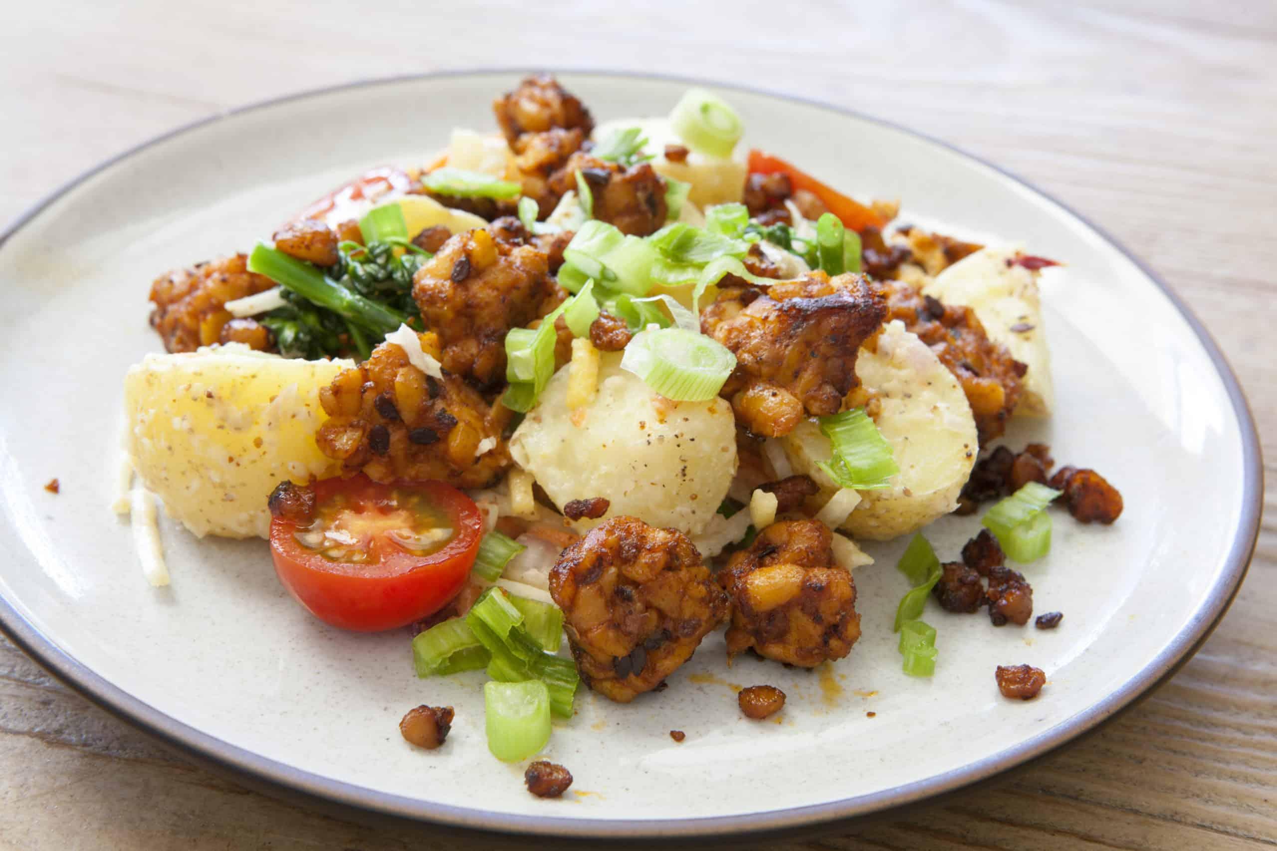tempeh potato salad