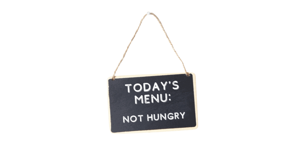 5 Reasons Why You May Not Feel as Hungry 2