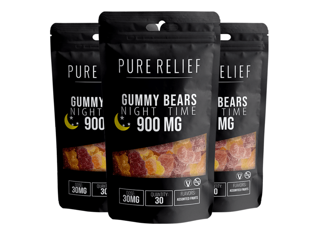 Pure Relief Melatonin Gummy Breakdown 20% 1