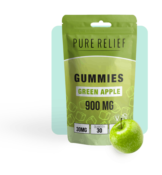 Pure Relief Green Apple Gummy Launch 16