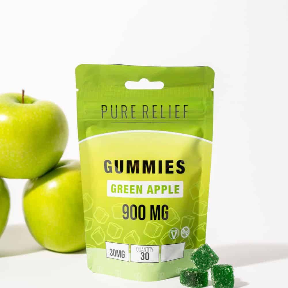Pure-Relief-green-apple-gummies-2