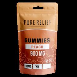 Peach Gummies - Ad Safe - No shadow